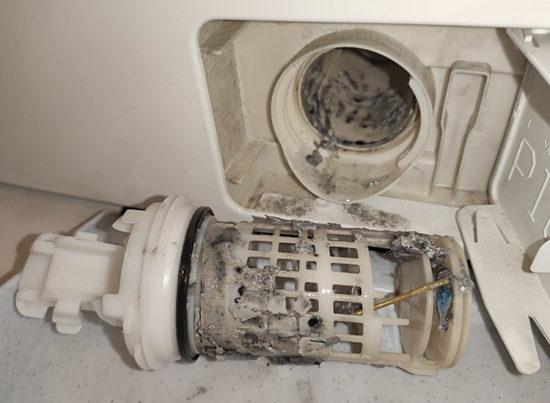 Сливной фильтр стиральной машины (дренажный)