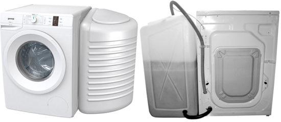 Gorenje WP7Y2/RW обзор модели стиральной машины без водопровода с баком