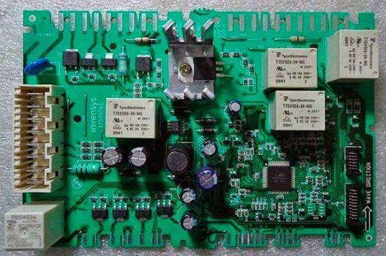 Модуль управлления стиральной машины