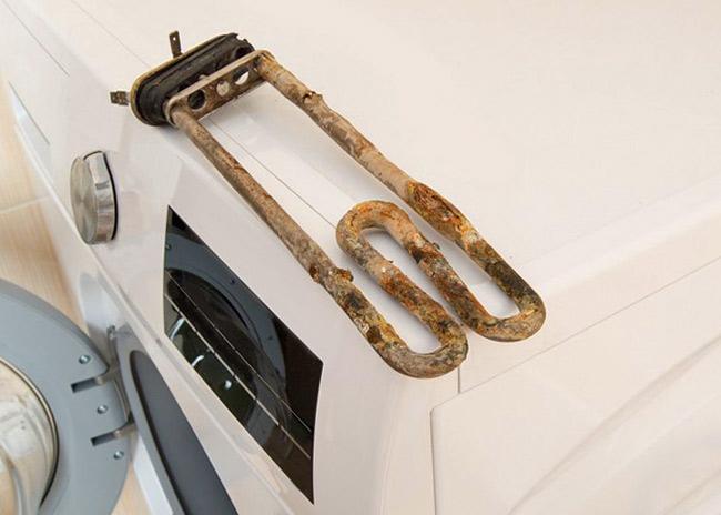 Сломался ТЭН стиральной машины, не греет воду из-за накипи – что делать?