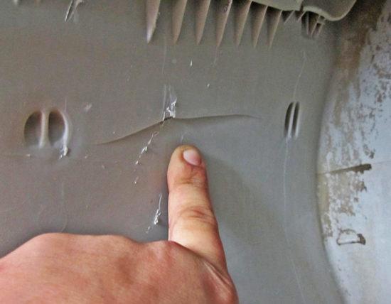 Трещина в баке стиральной машины